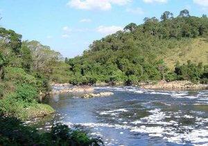 Río Poluído no Paraná