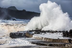 Agitação Marítima nos Açores (Tempestade Hércules Jan'2014)