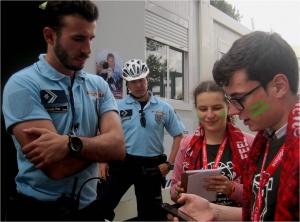 Jovens Repórteres para o Ambiente entrevistam a PSP