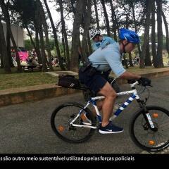 Mobilidade sustentável da PSP no Rock in Rio