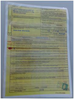 Exemplo de um certificado.