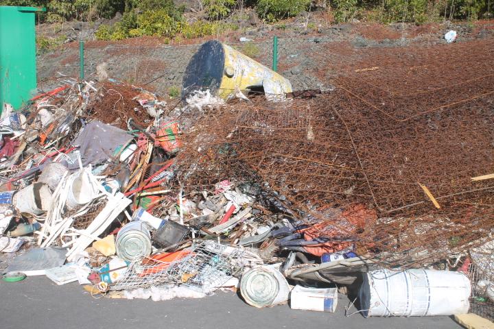 Processamento de resíduos no Pico