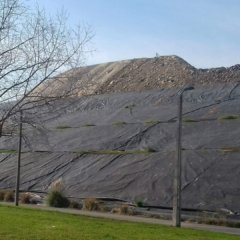 """The """"great wall""""… of litter"""