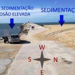 Zona Costeira em risco na Nazaré