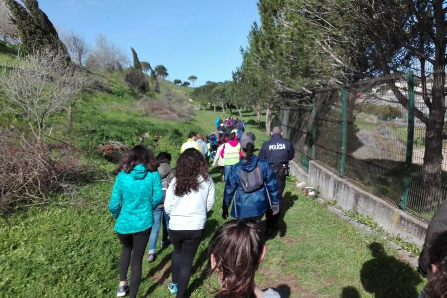 1ª Eco-caminhada em Casal de Cambra