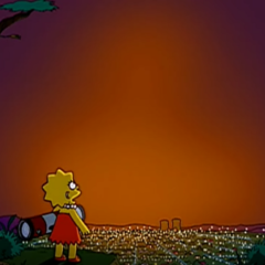 Os Simpsons à procura do céu sem poluição luminosa – 'Scuse Me While I Miss the Sky