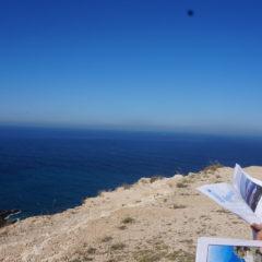 O relevo do litoral entre o Cabo Espichel e a Costa de Caparica