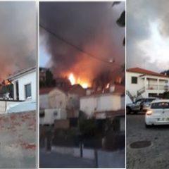 """""""Limpeza"""" de mata causa … Incêndio"""