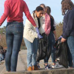 Campanha de Recolha de Lixo na EB 2,3 de Paço de Sousa