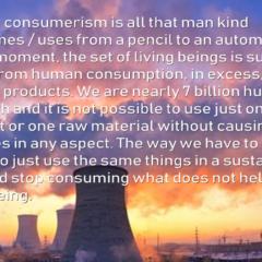 Human consumerism