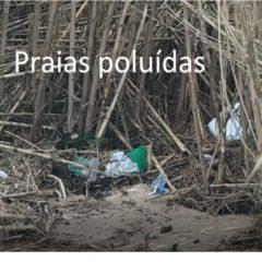 """Poluição nas praias"""" / """"Polluted beaches"""