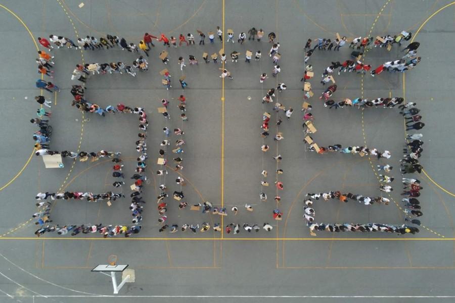 SOS pelo Clima na Escola Básica Trigal Santa Maria, Tadim