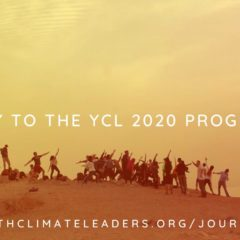 Youth Climate Leaders: Programas 2020