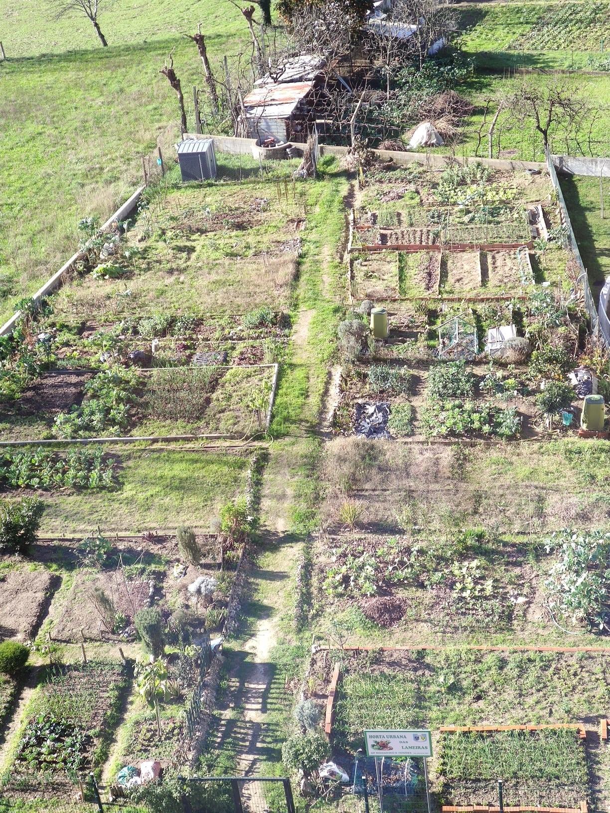 Horta urbana comunitária para uma cidade nova