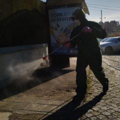 SARS-CoV-2: Desinfetar as ruas, infetar o ambiente?