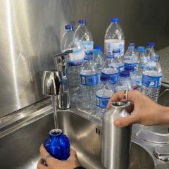 Garrafas de água reutilizáveis: menos é mais