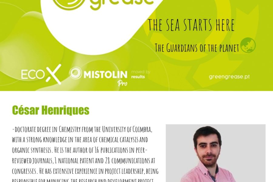 Entrevista … César Henriques – De óleo a detergente!