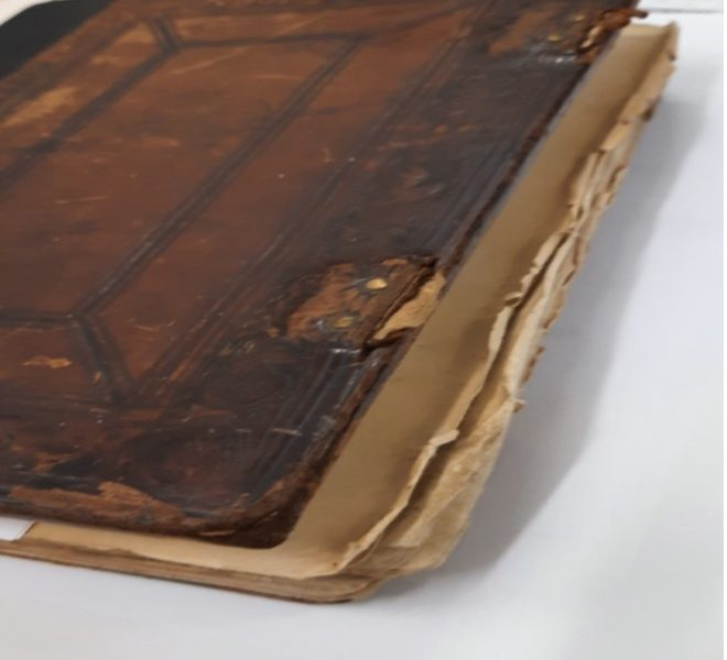 O restauro de livros