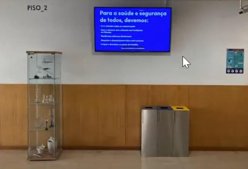 A gestão de resíduos na Faculdade de Ciências da Universidade de Lisboa